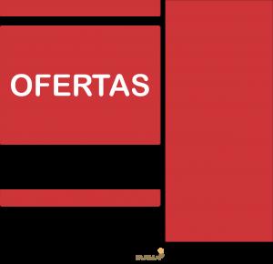 Cesto Oferta Adesivo Brilho 104 X 92