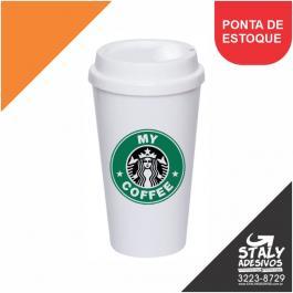 COPO BUCKS 550ML   4x0 Impressão Colorida Brilho 550ml