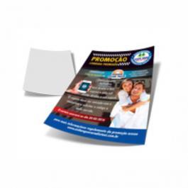 Impressão Jato de Tinta Papel A4  4x0  Sem acabamento  / Sem refile