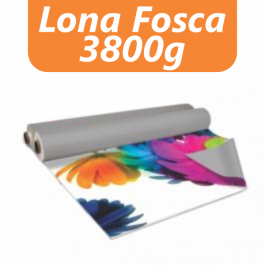Lona Fosca 380g Lona fosca  380g  4x0 Fosca Sem acabamento  / Sem refile