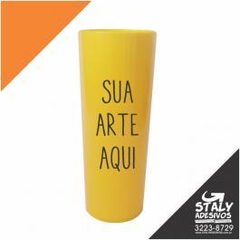 Long Drink Amarelo Fechado Acrilico  1x0  Brilho 350ml
