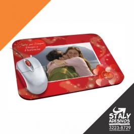 Mouse Pad  Pequeno Base de espuma 19 x 14 4x0 Poliester