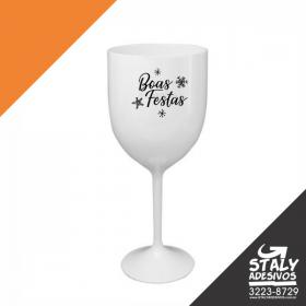 Taça de Vinho Branca Acrilico Poliestireno  1x0  Brilho